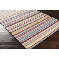 Hand Hooked Dalal Wool Area Rug (8' x 10')