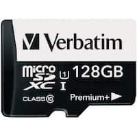 Verbatim 128GB PremiumPlus 533X microSDXC Memory Card with Adapter, U