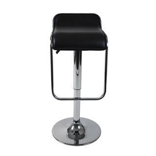 Furgus Bar/Counter Stool - Black/Chrome