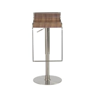 Forest Bar/Counter Stool - Walnut/Satin Nickel