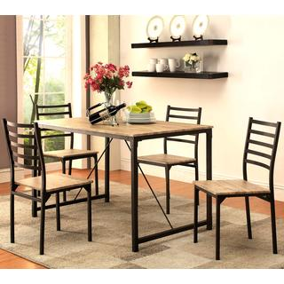 Imperial Rustic Industrial Design 5-piece Dining Set