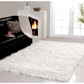 Affinity Home Collection Cozy Shag Area Rug (4' x 6') - 4' x 6'