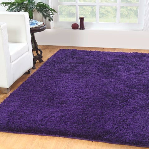 Affinity Home-soft Luxurious Plush Shag Rug (4' x 6') - 4' x 6'