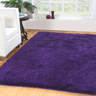Affinity Home-soft Luxurious Plush Shag Rug (4' x 6')