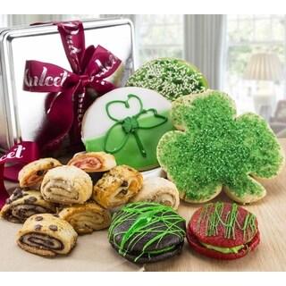 Dulcet's St. Patrick's Lucky Irish Gourmet Treats Gift Assortment
