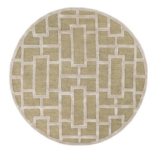 Hand-Tufted Thaxted Wool Rug (8' Round)