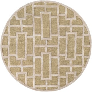 Hand-Tufted Thaxted Wool Rug (6' Round)