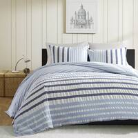INK+IVY Sutton Blue Duvet Cover 3 PIece Set