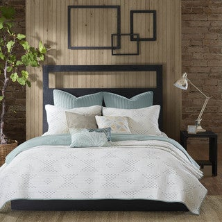 INK+IVY Pacific Blue Coverlet Mini 3 Piece Set