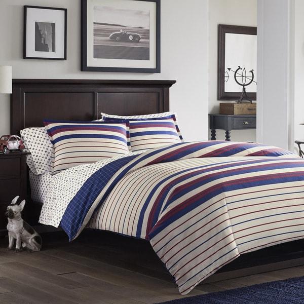 Poppy & Fritz Tucker Cotton 3-piece Comforter Set