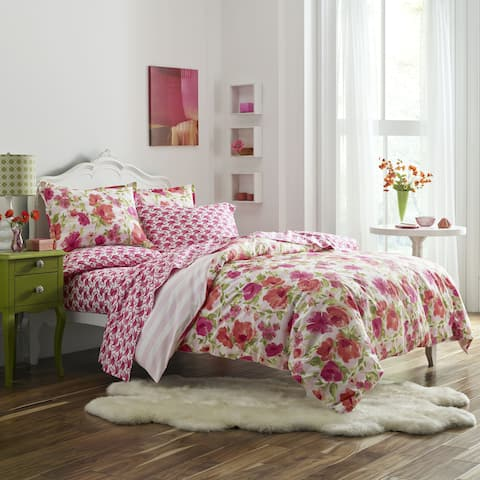 Poppy & Fritz Buffy 3-piece Duvet Cover Set
