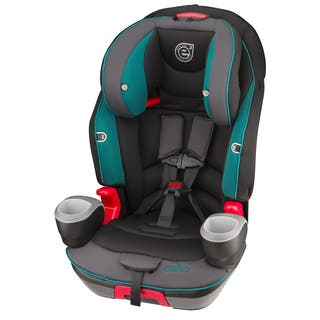 Evenflo Evolve Booster Car Seat in Waterfall Mist https://ak1.ostkcdn.com/images/products/11148796/P18146572.jpg?impolicy=medium