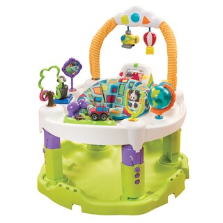 Evenflo ExerSaucer Triple Fun Plus in World Explorer