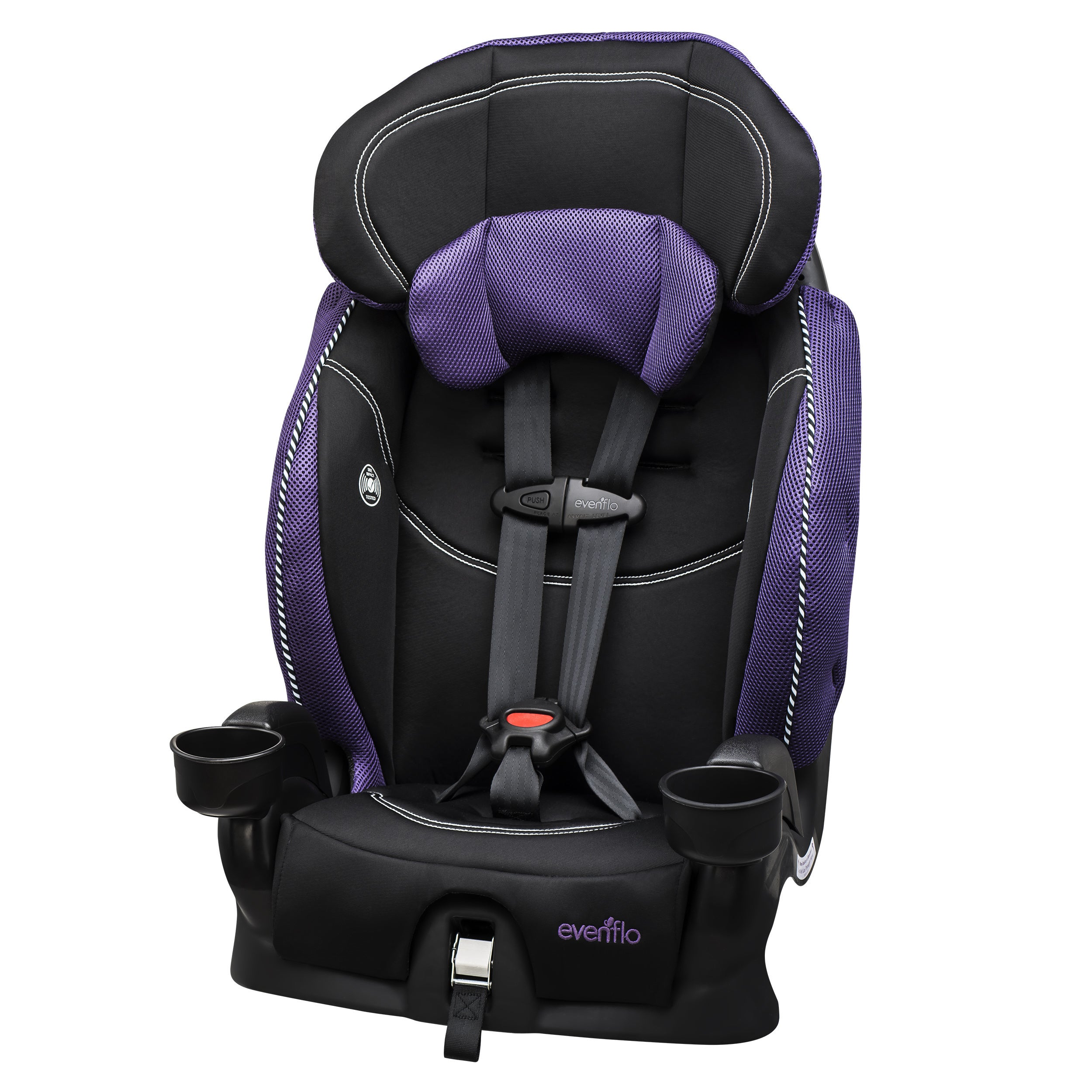 Evenflo Chase LX Booster Car Seat in Jasmin (Jasmin), Purple