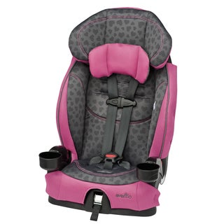 evenflo chase lx booster car seat in tonal hearts free shipping today 18146577. Black Bedroom Furniture Sets. Home Design Ideas