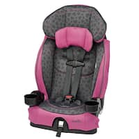 Evenflo Chase LX Booster Car Seat in Tonal Hearts