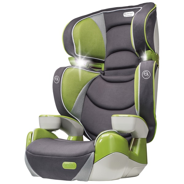 evenflo rightfit booster car seat in yoshi free shipping today overstock 18146578. Black Bedroom Furniture Sets. Home Design Ideas