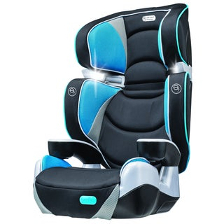 evenflo rightfit booster car seat in capri free shipping today overstock 18146579. Black Bedroom Furniture Sets. Home Design Ideas