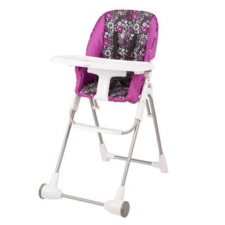 Evenflo Symmetry Flat Fold High Chair in Daphne