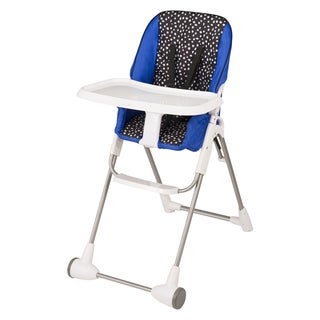 Evenflo Symmetry Flat Fold High Chair in Hayden Dot