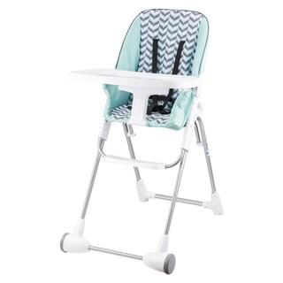 Evenflo Symmetry Flat Fold High Chair in Spearmint Spree