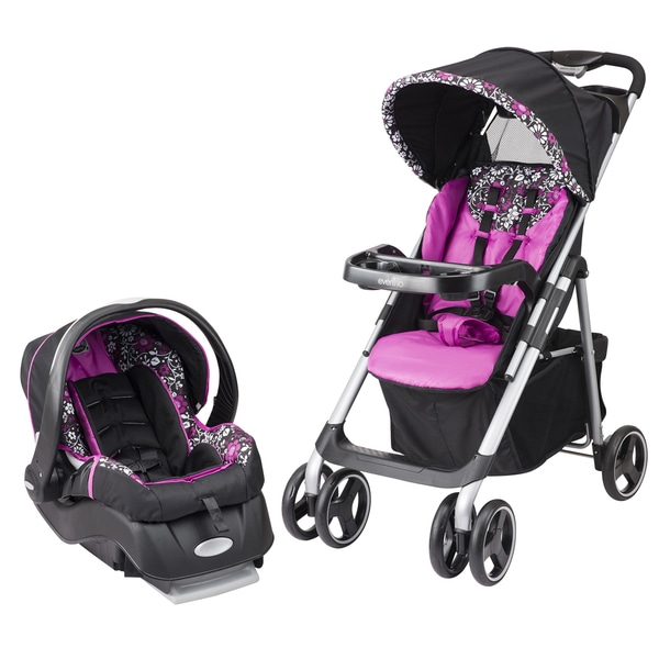 Shop Evenflo Vive Embrace In Daphne Travel System Free