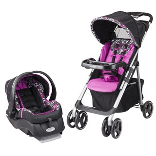 Evenflo Vive Travel System with Embrace in Daphne