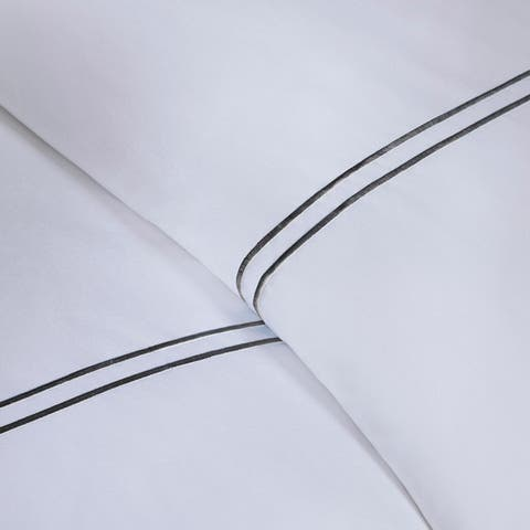 Madison Park Signature Luxury 1000 TC Cotton Sateen Duvet Cover Set
