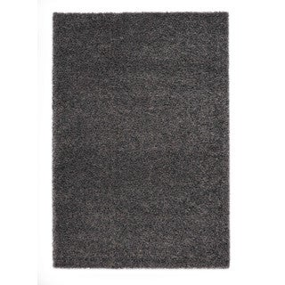 "Somette Slater Collection Graphite Solid Area Rug (7'10"" x 11'2"")"
