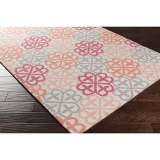 Hand Hooked Curtner Wool Rug (8' x 10')