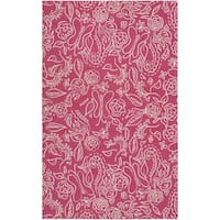 """Hand Hooked Colonel Wool Area Rug - 7'6"""" x 9'6"""""""