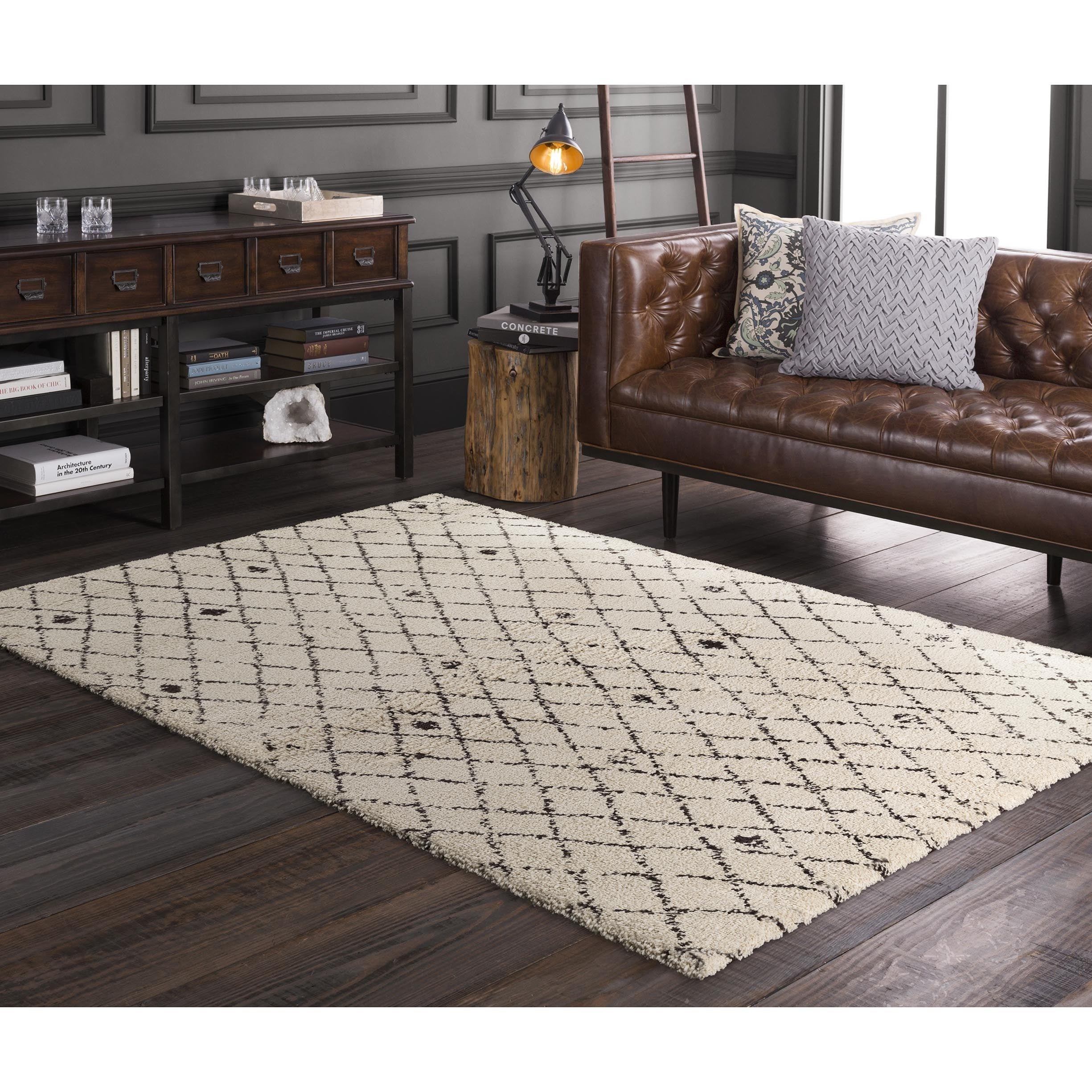 Meticulously Woven Dupont Rug (5'3 x 7'7) (Beige), Size 5...