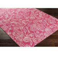 Hand Hooked Colonel Wool Area Rug - 5' x 7'6""