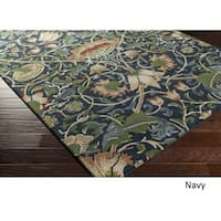 Hand Tufted England Exeter Wool - New Zealand Area Rug - 5' x 8'