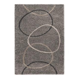 "Somette Slater Collection Slate Geometric Area Rug (6'7"" x 9'6"")"