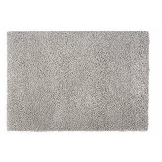 "Somette Loretto Collection Slate Solid Shag Area Rug (6'7"" x 9'6"")"