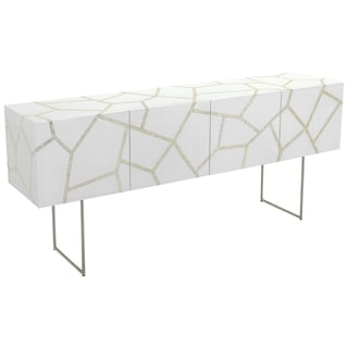Safavieh Couture High Line Collection Ashley White Lacquer Storage Buffet