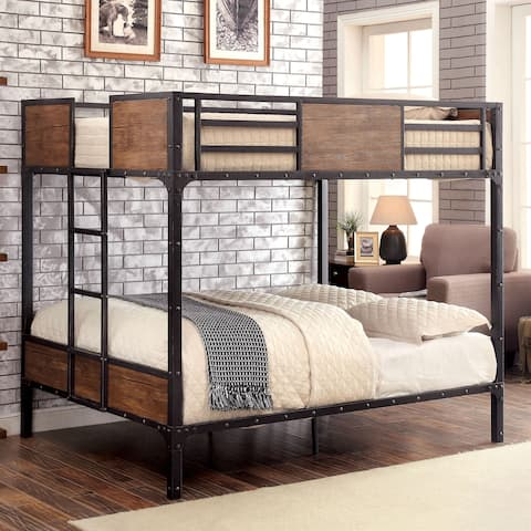 Markain Industrial Metal Bunk Bed by FOA