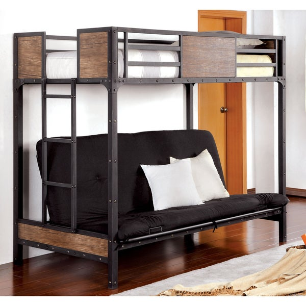 Shop Furniture Of America Markain Industrial Metal Loft