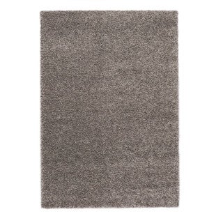 Somette Slater Collection Slate Solid Area Rug (5.3' x 7.7')