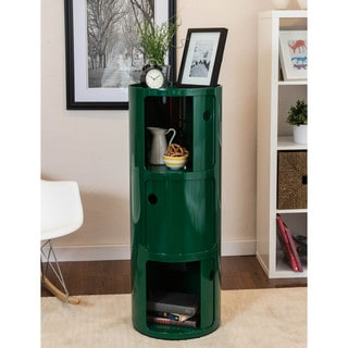Somette Gavins Room Large Green 3-Compartment Storage Unit