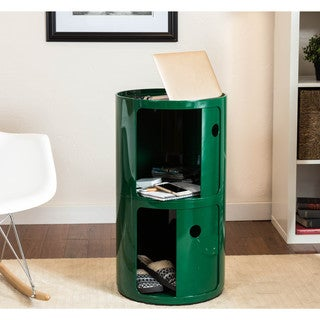Somette Gavins Room Large Green 2-Compartment Storage Unit