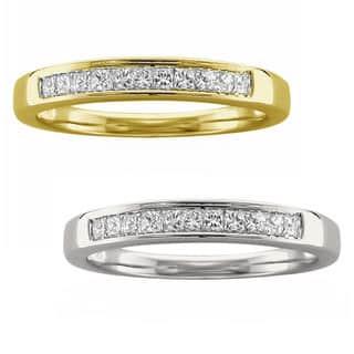 Montebello 14k Yellow or White Gold 1/4ct TDW Certified White Diamond Wedding Band|https://ak1.ostkcdn.com/images/products/11149651/P18147290.jpg?impolicy=medium
