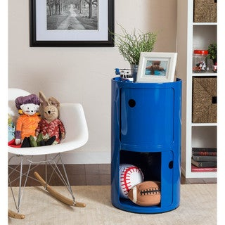 Somette Gavins Room Large Blue 2-Compartment Storage Unit