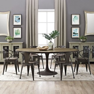 "Drive 78"" Oval Dining Table"