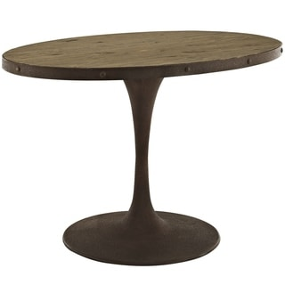 Myrtle Oval Dining Table 16249930 Overstock Com