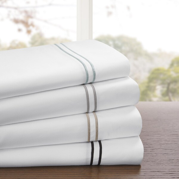 Madison Park 1200 Thread Count Cotton Blend Sheet Set