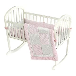 Crocodile Minky Cradle Bedding Set
