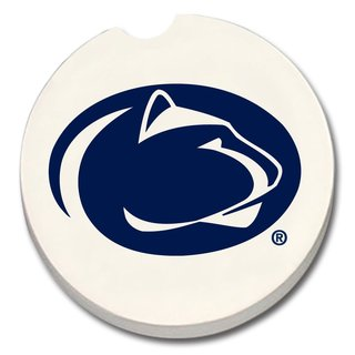 Penn State Nittany Lions Absorbent Stone Car Coaster (Set of 2)