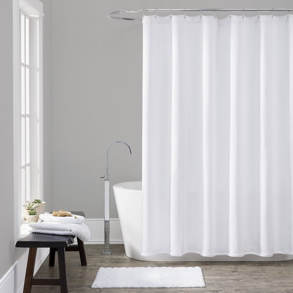 LaMont Home Chevron Shower Curtain - Multiple Sizes Available ...